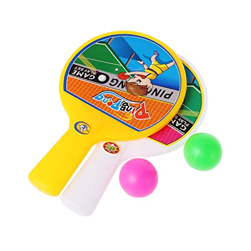 JAGENIE新しい卓球ボール卓球ラケットボール玩具スポーツギフトキッズおもちゃ屋外FunChristmas新年のギフト、1 PC、ランダム配信の商品画像