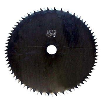 Hoja de acero para desbrozadora 2,4 mm, 80 dientes, calibre: (mm ...