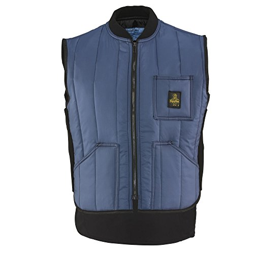 Refrigiwear Men's Lightweight Cooler Wear Vest (Navy Blue, - Blue Cooler Vest
