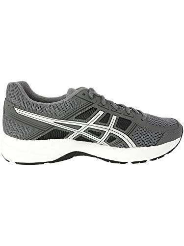 ASICS Mens Gel-Contend 4 Low Top Lace, Carbon/Silver/Shocking Orange, Size 6.5 by ASICS (Image #2)