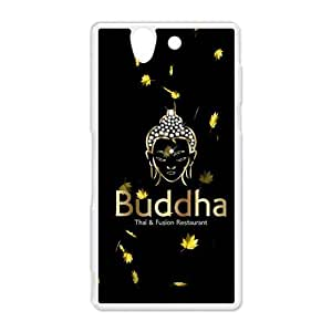 diy zhengCute Golden Buddha Mandala Pattern Hard Protective Plastic Back Case Cover for Sony Xperia Z Perfect as Christmas gift(5)