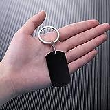 MeMeDIY Personalized Dog Tag Keychain Custom