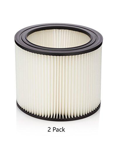 - Kopach Replacement Shop Vac Cartridge Filter, Part # 90304, 2 Pack, Original Filter