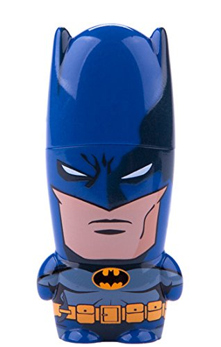 16GB Batman DC Comics x MIMOBOT Character USB Flash Drive with Bonus preloaded Mimory Content, Limited Edition by Mimoco (Flash Mimobot Drive)
