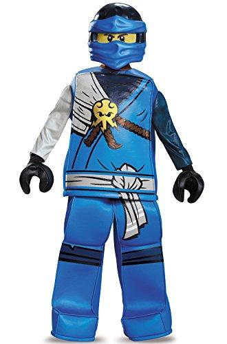 Jay Prestige Ninjago Lego Costume, Small/4-6 ()