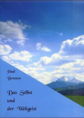 Notizbücher: Das Selbst und der Weltgeist Gebundenes Buch – 1. Januar 2001 Paul Brunton Aquamarin 3894271795 MAK_new_usd__9783894271794