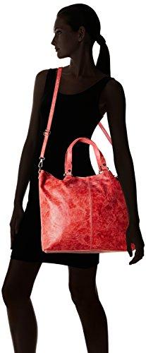 80055 Borse Rosso bandoulière Chicca Sacs Rouge q4wCCnU5