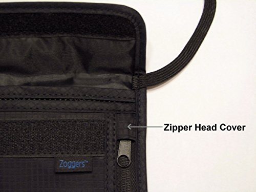 RFID Travel Wallet - Largest Neck Pouch - Fits Any Size Cell Phone- Cruise - Keep Valuables Safe by Zoggers (Image #3)