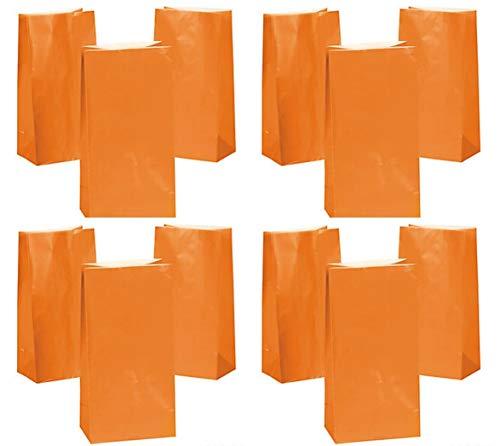 HAPPY DEALS ~ 3 dz Orange Paper Bags