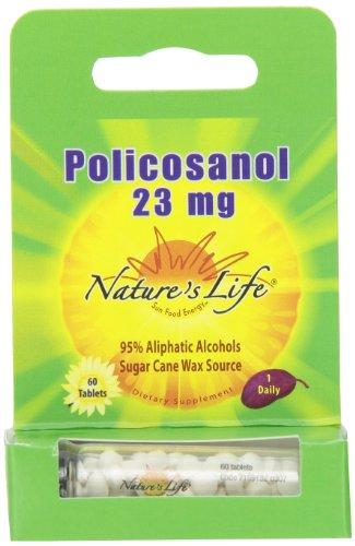 Природа Жизнь Policosanol Таблетки, 23 мг, 60 граф