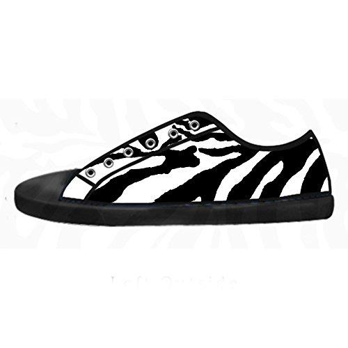 Barato Venta En Línea Custom zebra di stampa Mens Canvas shoes I lacci delle scarpe in Alto sopra le scarpe da ginnastica di scarpe scarpe di Tela. Venta Visita Últimas Colecciones Venta Genuina Venta Al Por Mayor Precio k6IUzn