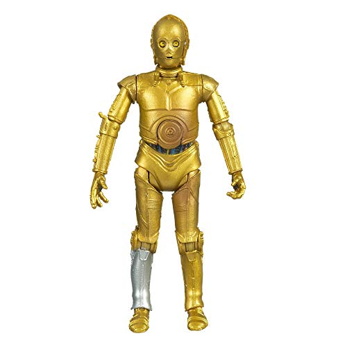 """Star Wars The Vintage Collection See-THREEPIO (C-3Po) Toy, 3.75"""" Scale The Empire Strikes Back Figure"""