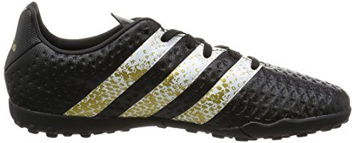 adidas Ace 16.4 Tf J, Botas de Fútbol para Niños Negro (Negbas / Ftwbla / Dormet)