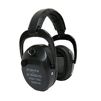 Image of Earmuffs Pro Ears GSPTSTLBLACK Pro Tac SC Gold, Noise Reduction Rating 25DB, Black