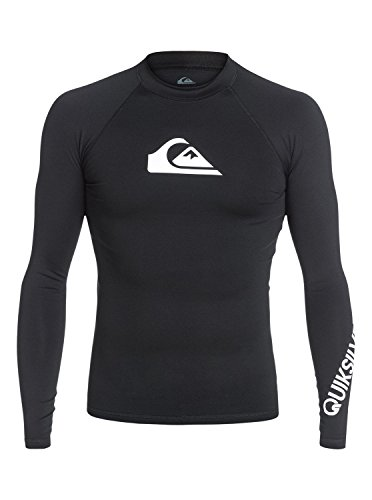 Quiksilver Mens All Time Long Sleeve Rash Guard