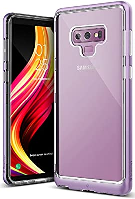 promo code 04ae4 e90e8 Caseology Skyfall for Galaxy Note 9 Case (2018) - Clear Back & Slim Fit -  Lavender Purple