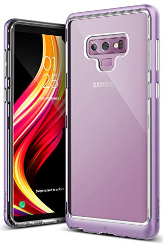 Caseology [Skyfall Series] Galaxy Note 9 Case - [Clear Back/Premium Finish] - Lavender Purple