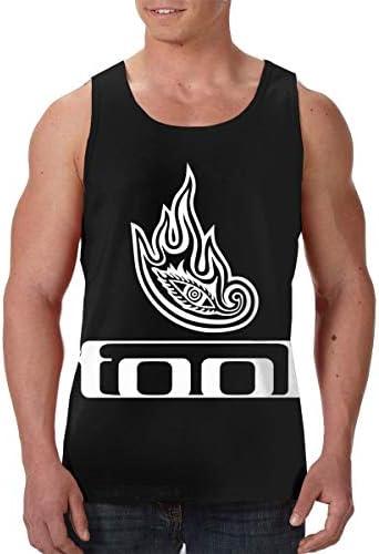 トゥール Tool メンズ 印刷 袖なしク シャツ 筋肉シャツ レーニング ティーズ 吸汗速乾