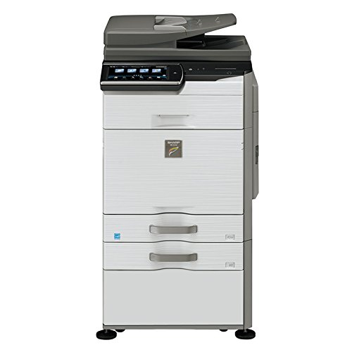 Sharp MX-3140N Tabloid-size Color Laser Multifunction Copier - 31ppm, Copy, Print, Scan, 2 Trays and Cabinet
