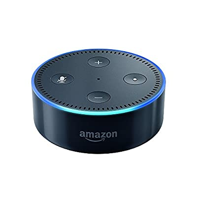 Echo Dot (2nd Generation) - Smart speaker with Alexa - Black by Amazon
