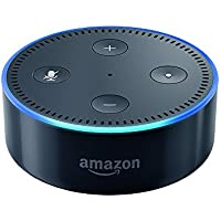 Amazon Echo Dot 2nd Generation Bluetooth Speaker with Alexa (Black)