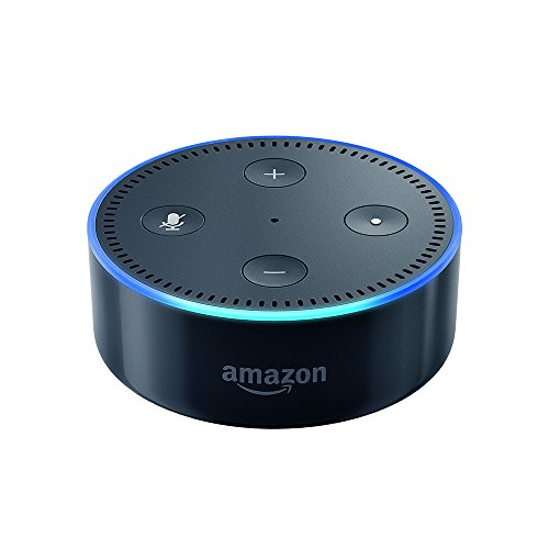 Echo Dot (2nd Generation) - Smart speaker with Alexa - Black (Best Google Voice Numbers)