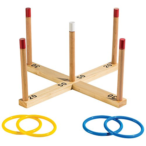 Franklin Sports Wooden Ring Toss by Franklin Sports
