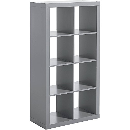 Better Homes And Gardens 8 Cube Organizer Gray Top Home Offices