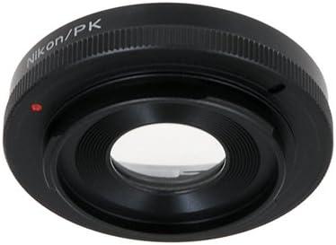 DL2 K-m, K100D Super K-30 Fotodiox Lens Mount Adapter DL K20D K-m A.K.A. K2000 K10D K110D Samsung GX-20 DS2 K-01 K200D K-x K100D K-5 K-7 GX-10 D Nikon Lens to Pentax K mount adapter for Pentaxist DS K-r
