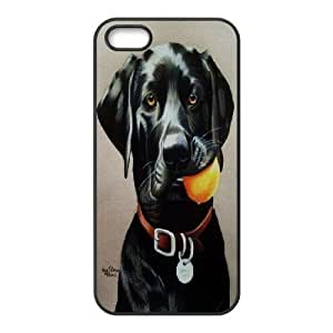 Best Quality [LILYALEX PHONE CASE] Pet Dogs For Apple Iphone 5 5S CASE-19