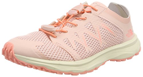 Sand Pink Women's Field Flow Pink Evening NORTH Desert FACE and Litewave Track THE Orange Flower Lace Shoes 8x47wvnq