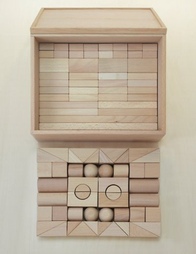 木製おもちゃのだいわ 積木 4B セット 90pcs B001A1RML8, 余呉町 f3b7dd9d