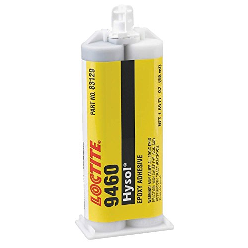 Loctite 9460 Hysol Non Sag Epoxy Structural Adhesive, 50 mL Dual Cartridge, Gray by Loctite