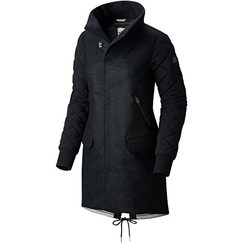 Sorel Conquest Carly Wool Down Coat - Women's Black, M