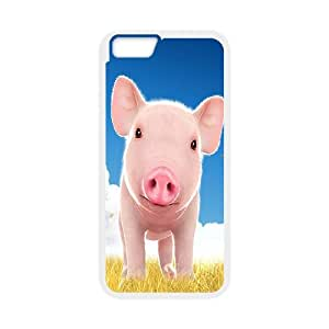 "Cute pet baby pig Hard Plastic phone Case Cover For Apple Iphone6/Plus5.5"" screen Cases XFZ398505"