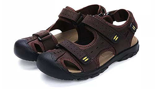 Randonne Casual Collision Anti Air Chaussures Sports Plein Toe Sandales Marron Athltique Ferm Plage En Hommes Cuir De D't Asifn Pcheur 6qBgxSw