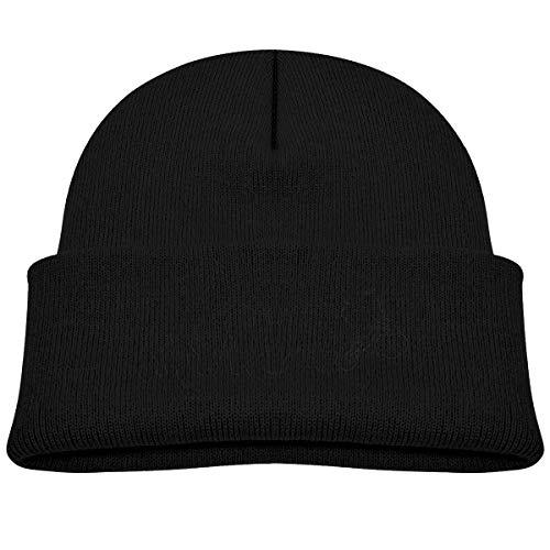 Laki-co Motocross Evolution Kid Knitted Beanies Hat Boys Girls Winter Hat Knitted Skull Cap Black ()