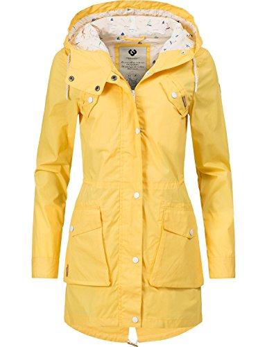 Ragwear - Abrigo - para Mujer Amarillo