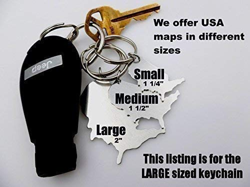 US State Map, Long Distance Gift, Moving Away gift, Going Away, Gift ...