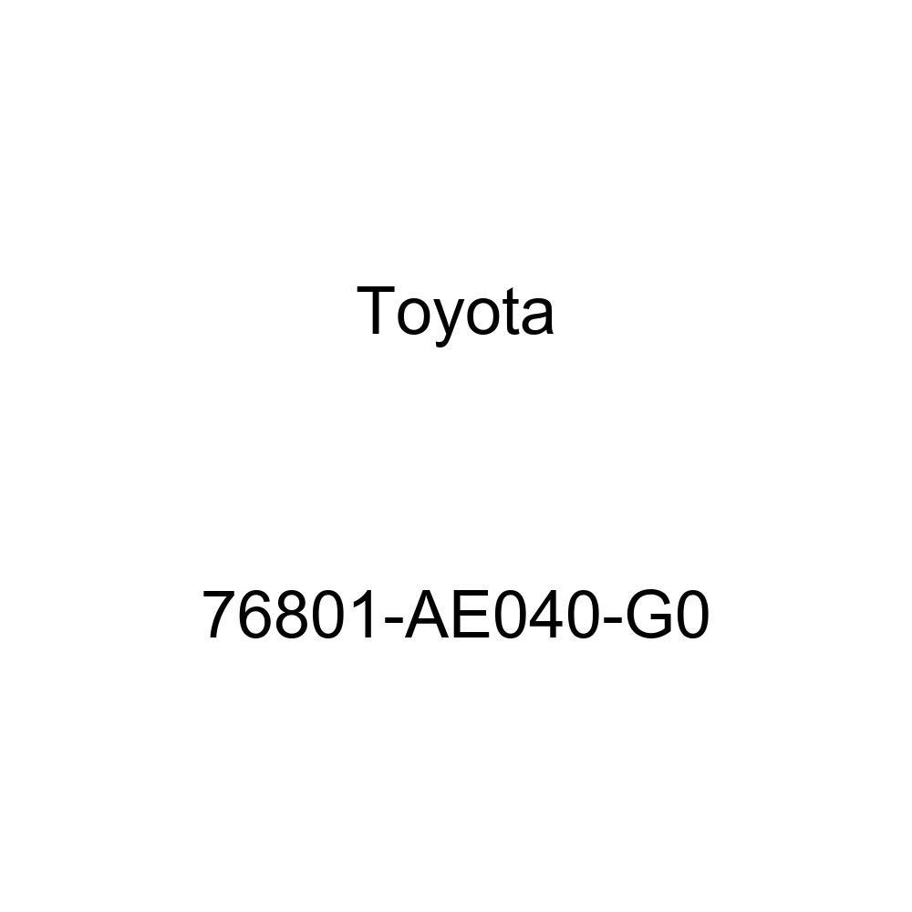 Genuine Toyota 76801-AE040-G0 Door Garnish Sub Assembly
