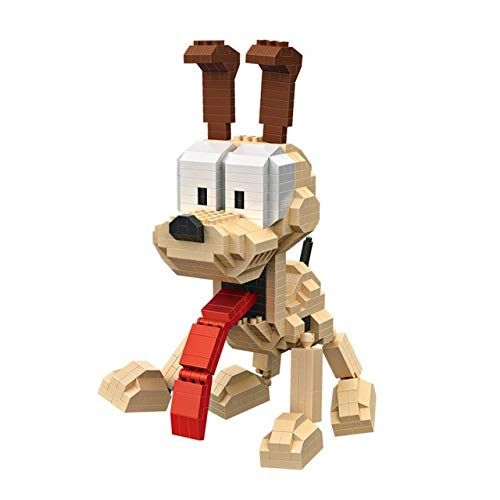 Days Of Future Past Magneto Costume (VIDANL Mini QUTE LOZ I Movie Cartoon Cat Dog Animal Odie Plastic Building Blocks Action Figures Educational Toy 9757 9758 Toddler Must Haves Birthday Gifts My Favourite Superhero)