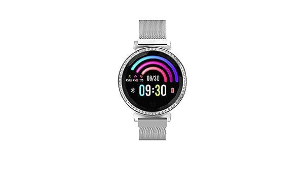FORYOURS Smartwatch con Pulsómetro,Impermeable IP65 Reloj ...