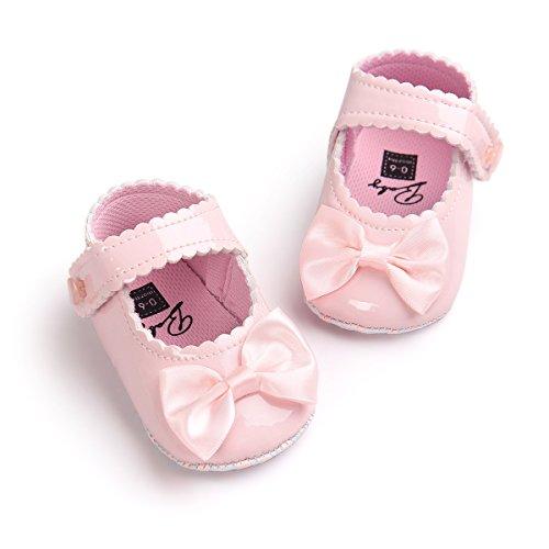 Baby Schuhe Auxma Blumen-Baby-weiche Sohle Schuhe für 0-18 Monate (S 0-6 M)