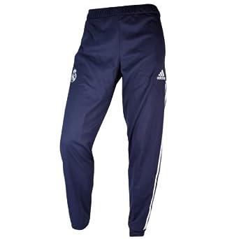 adidas Real Madrid C.F. - Pantalones de chándal, Color Negro, 2012 ...