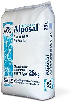Sal de casco Reich GmbH alposal Pool Sal (cloro Adecuado) en saco ...