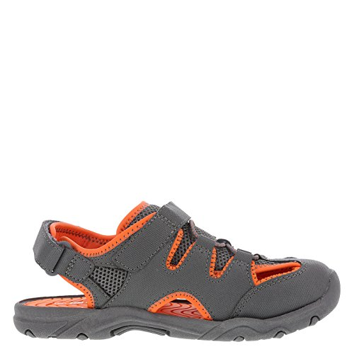 Image of Rugged Outback Boy's Grey Orange Sport Fisherman Little Kid Size 13 Regular