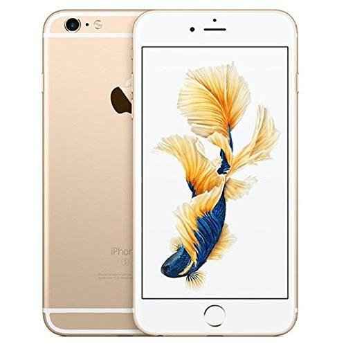 Apple iPhone 6s Plus Factory Unlocked Smartphone, 64 GB, Gold (Certified Refurbished)