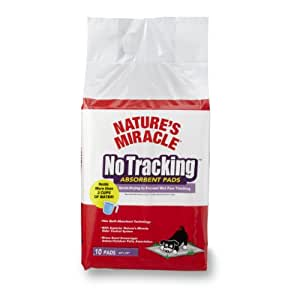 Nature's Miracle No Tracking Absorbent Pads, 10-Count (P-5735)