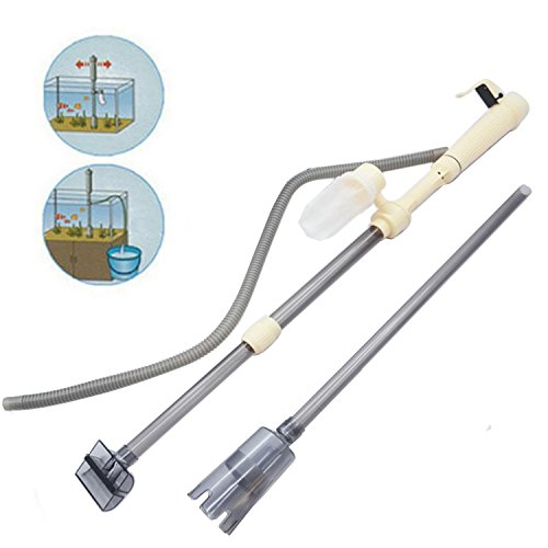 Electrico aspirador para acuarios con sifón bomba