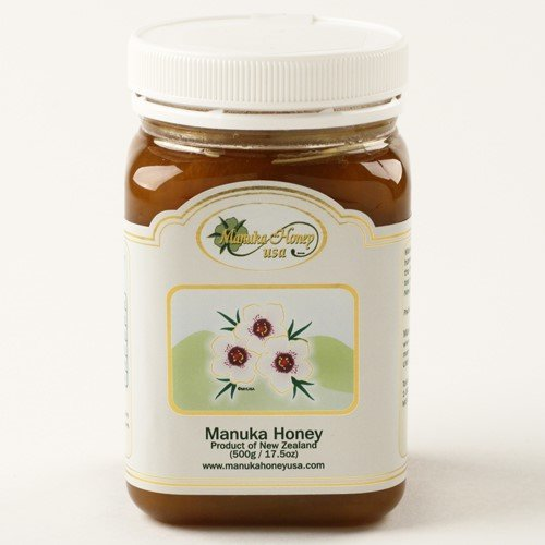 Manuka Raw New Zealand Honey (17.5 ounce) by Manuka Honey